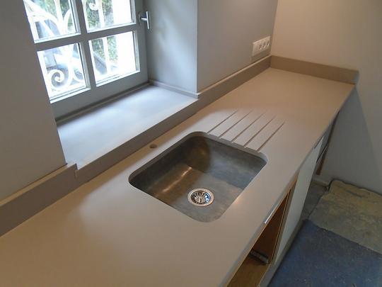 plan de travail pierre marbre ou granit. Black Bedroom Furniture Sets. Home Design Ideas